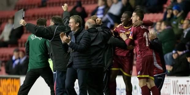 Europa League : victoire décisive de Zulte Waregem contre Wigan (1-2) - La Libre