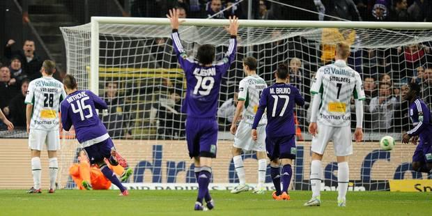 Mitrovic sauve Anderlecht de la crise (2-1) - La Libre