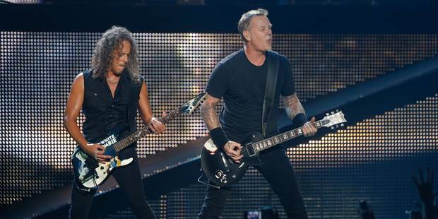 Metallica sera à Rock Werchter 2014 - La Libre