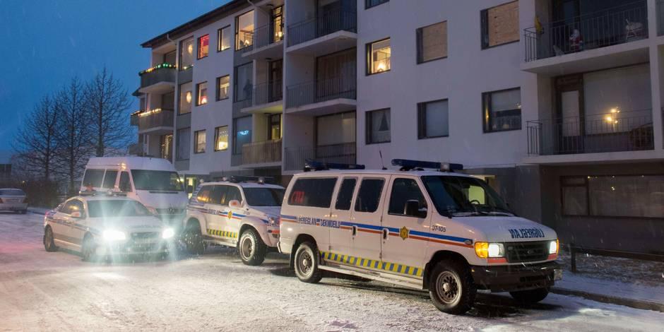 La police islandaise tire sur un homme... pour la première fois