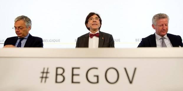 Di Rupo dresse le bilan de son gouvernement - La Libre