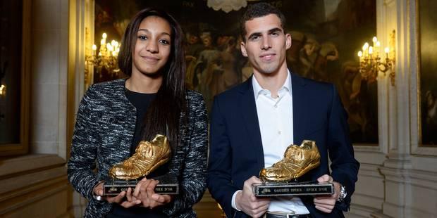 Jonathan Borlée et Nafissatou Thiam élus meilleurs athlètes belges de l'année - La Libre