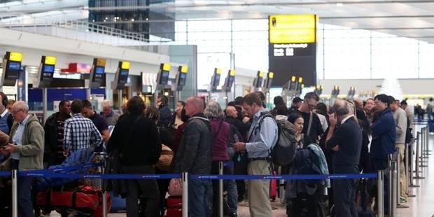 Pagaille dans le ciel britannique: des centaines de vols en retard ou annulés - La Libre