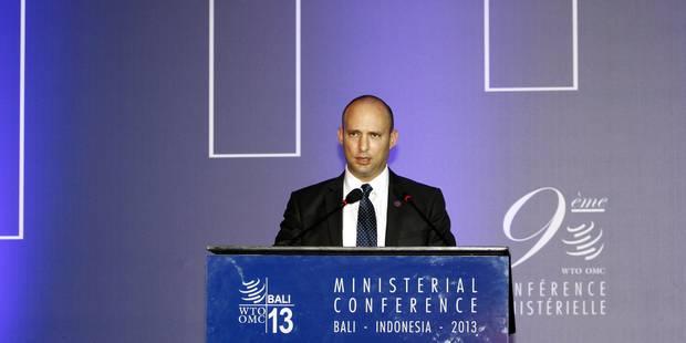 Un ministre israélien propose l'annexion d'une partie de la Cisjordanie - La Libre