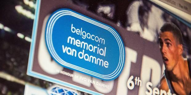 Belgacom n'est plus le sponsor principal du Mémorial Van Damme - La Libre