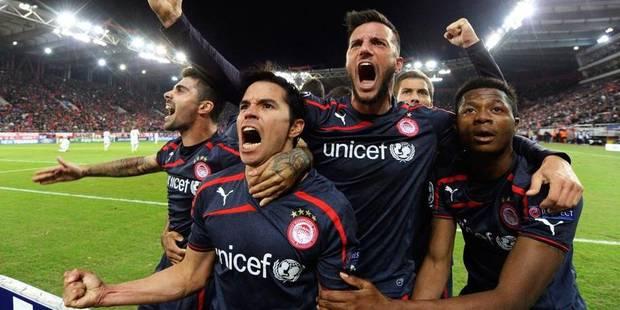 Anderlecht boit le calice jusqu'à la lie à l'Olympiacos (3-1) - La Libre
