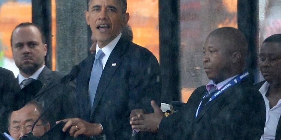 Mandela: l'interprète en langage des signes était un imposteur