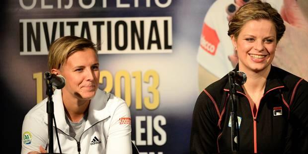 """Kirsten Flipkens: """"mon genou est plus important que mon classement"""" - La Libre"""