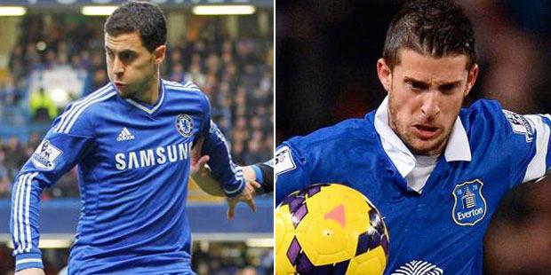 Belges à l'étranger: Hazard et Lukaku passeurs, Mirallas buteur - La Libre