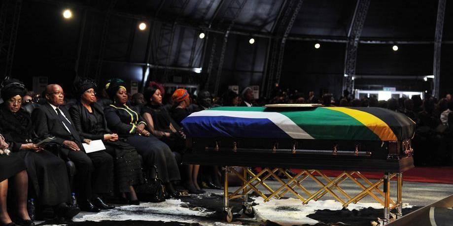 La tombe de Mandela, à jamais hors de portée du public?