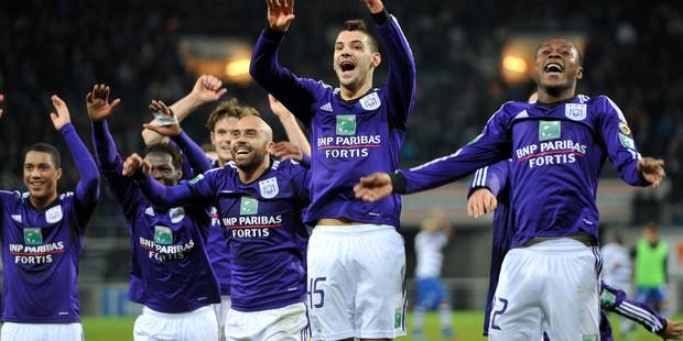 Anderlecht a pris son temps contre Gand (1-2) - La Libre