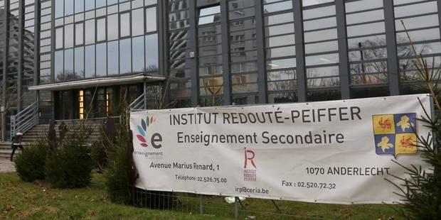 Deux cocktails Molotov jetés dans une école à Anderlecht - La Libre
