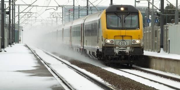 Les trains prêts à affronter les offensives hivernales - La Libre