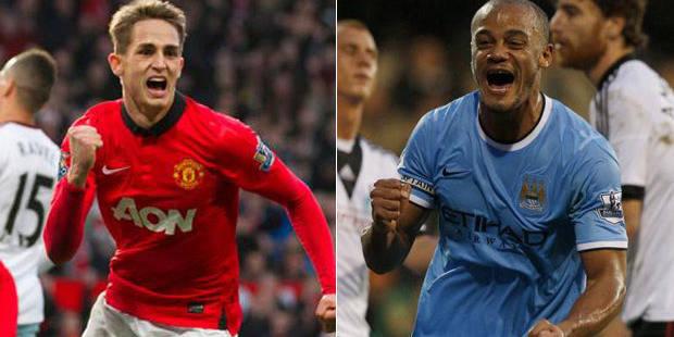 Belges à l'étranger: Januzaj et Kompany buteurs, Mignolet en tête de la Premier League - La Libre