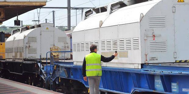 Un wagon de déchets nucléaires déraille près de Paris - La Libre