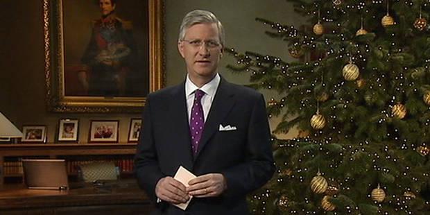 Le premier discours de Noël très personnel du roi Philippe (vidéo) - La Libre