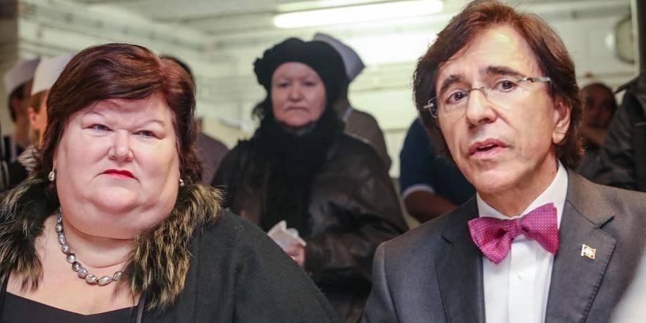 Les sans-papiers afghans ont pu discuter avec Di Rupo et De Block