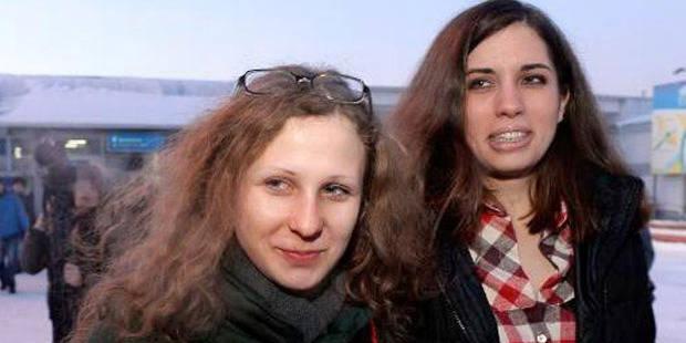 Retrouvailles en Sibérie des deux Pussy Riot déterminées à lutter - La Libre