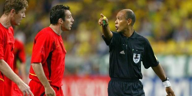 """Prendergast: """"Il y avait bel et bien faute sur le but de Wilmots face au Brésil"""" - La Libre"""