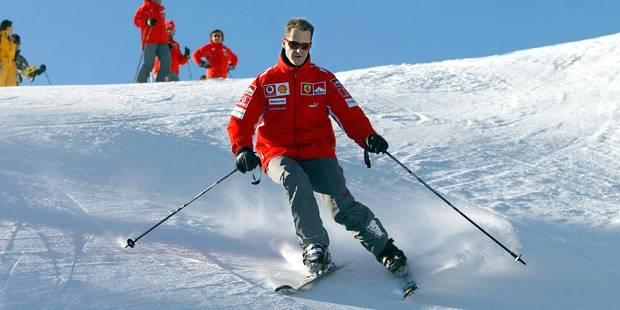 Schumacher ne skiait pas vite au moment de son accident - La Libre