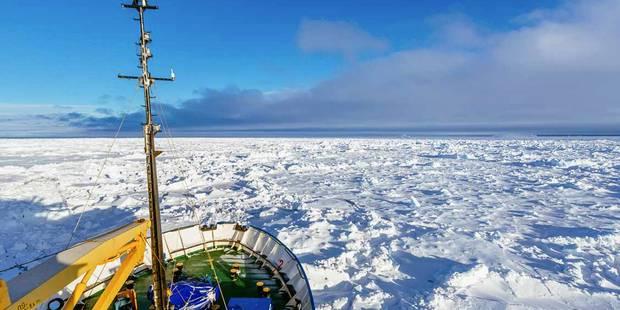 Antarctique: le navire chinois à son tour en difficulté - La Libre