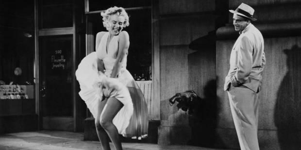 La fameuse robe blanche de Marilyn, un culte ! - La Libre