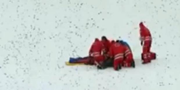 La terrible chute d'un ancien champion olympique de saut à skis - La Libre