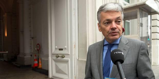 Reynders dégomme la RTBF et RTL... où Di Rupo n'ira pas - La Libre