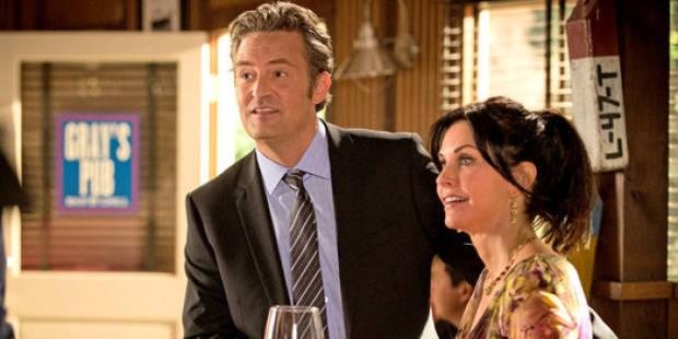 Chandler et Monica enfin réunis! - La Libre