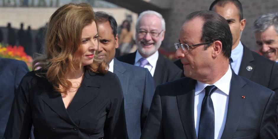 Valérie Trierweiler et François Hollande: une entrevue ce dimanche?