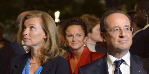 """Hollande: Valérie Trierweiler """"va mieux"""", elle """"se repose"""" à la Lanterne - La Libre"""