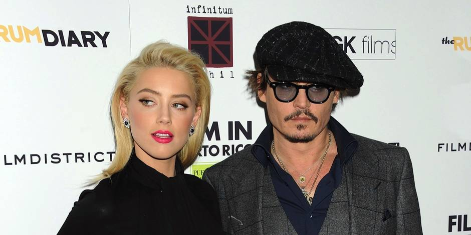 Johnny Depp se fiance à l'actrice à Amber Heard