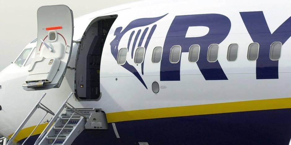 """Ryanair est accusé de """"travail non déclaré"""""""