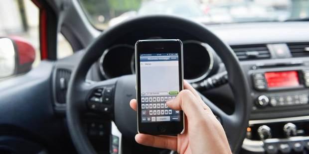 Plus de 8% des conducteurs distraits au volant - La Libre