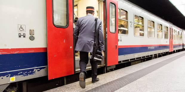Les accompagnateurs de train moins agressés en 2013 - La Libre