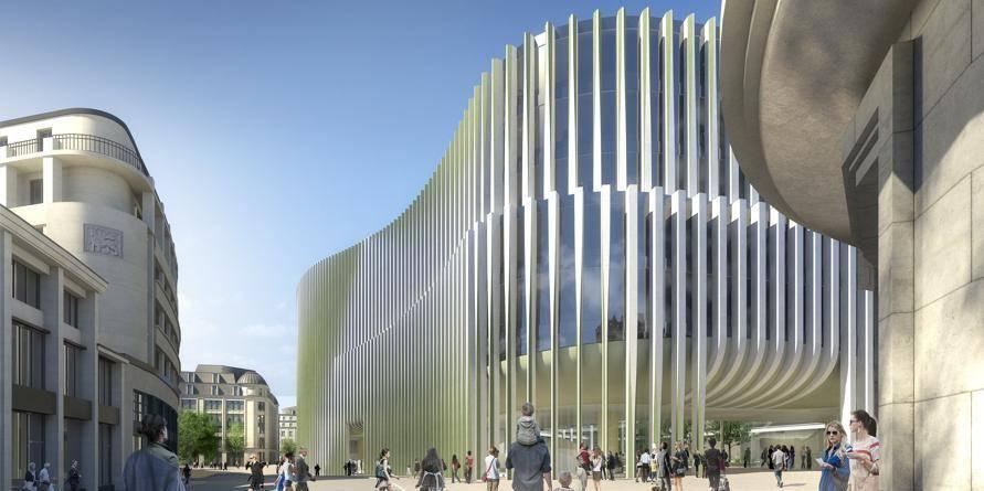 Son nouveau siège projettera BNP Paribas Fortis dans le futur