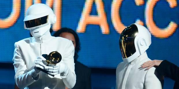 Les Daft Punk brillent aux Grammy Awards - La Libre