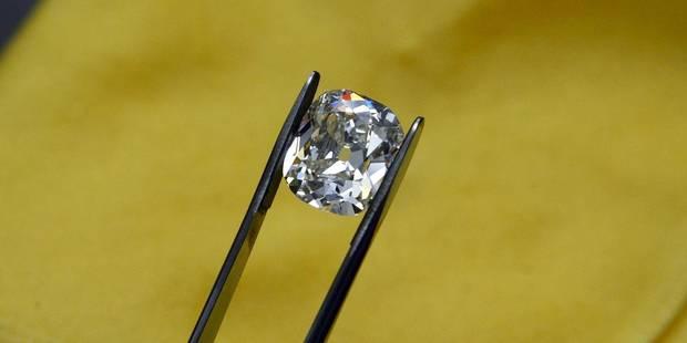 2013, une année en or pour le commerce du diamant à Anvers - La Libre