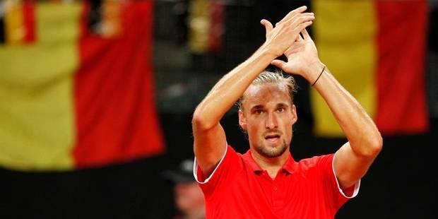 Coupe Davis: Les Belges gagnent le double et gardent espoir - La Libre