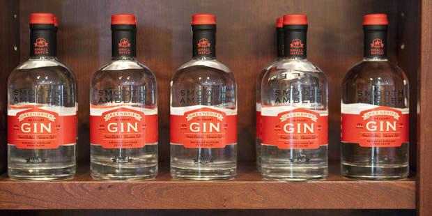 Le gin est le spiritueux en vogue auprès des consommateurs belges - La Libre