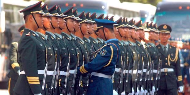 En 5 ans, les dépenses militaires de la Chine ont augmenté de 40% - La Libre