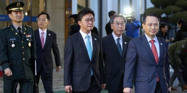 Rencontre au sommet entre les deux Corées - La Libre
