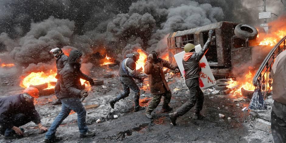 """La Russie reproche à l'UE de vouloir créer une """"sphère d'influence"""" en Ukraine"""