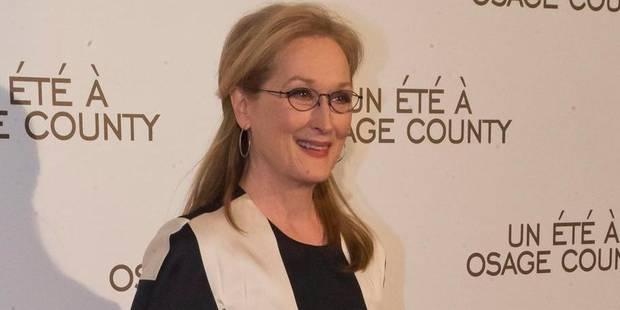 """Meryl Streep """"reconnaissante qu'on s'intéresse encore à son travail"""" - La Libre"""