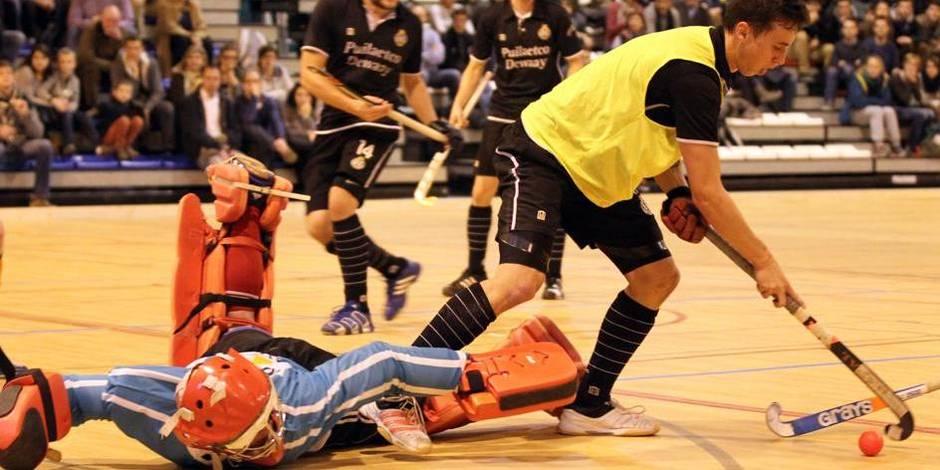 Coupe d'Europe indoor de hockey: le Racing Club de Bruxelles battu en demi-finales