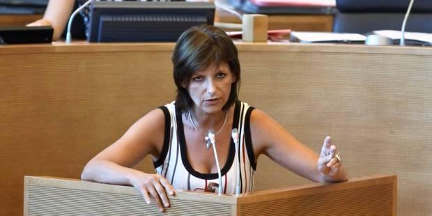 Véronique Cornet, tête de liste MR pour la Région à Charleroi - La Libre