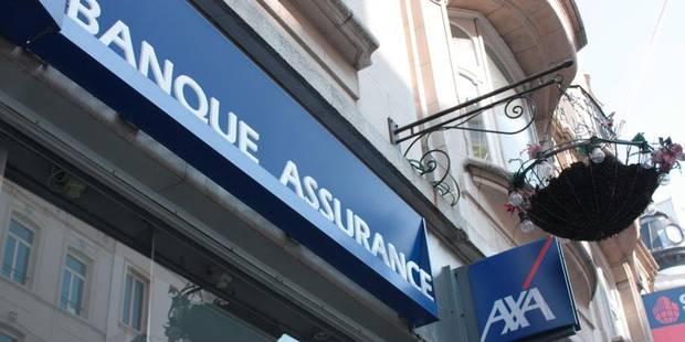 AXA Bank Europe veut supprimer 148 emplois sur 3 ans - La Libre