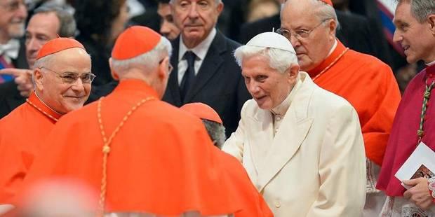 Benoît XVI présent à Saint-Pierre pour le consistoire - La Libre