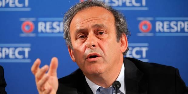 """Michel Platini: """"Pas de soucis majeurs"""" à l'Euro-2016 - La Libre"""