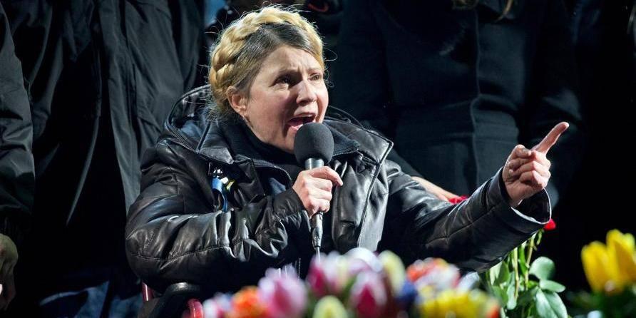 """Ioulia Timochenko: """"Vous êtes des héros, vous êtes les meilleurs d'Ukraine!"""""""